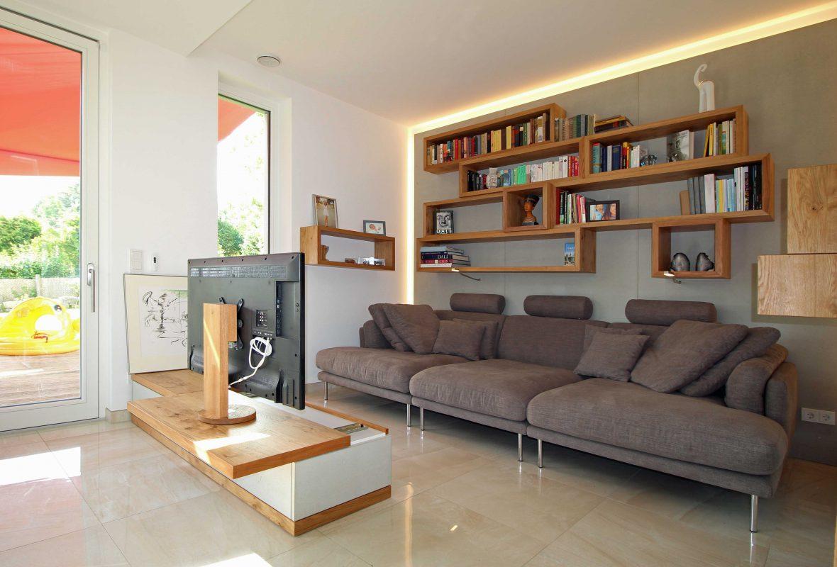 TV Schrank, Couch